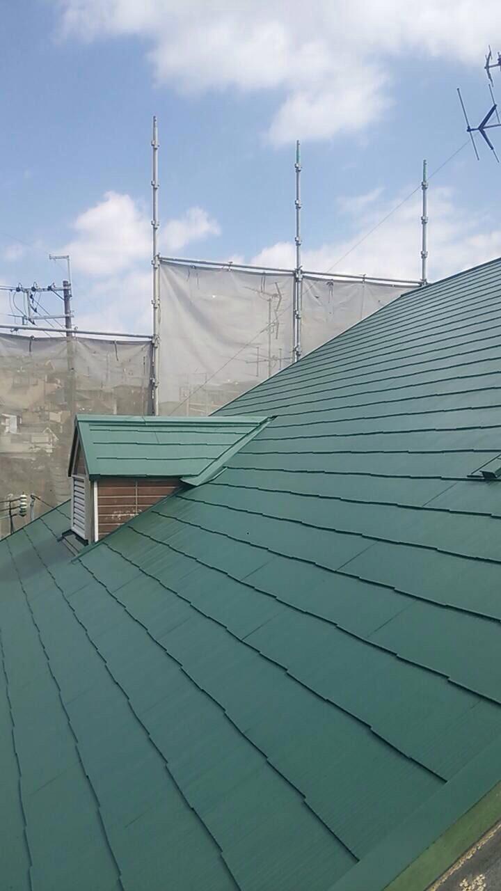 屋根塗装の施工事例一覧